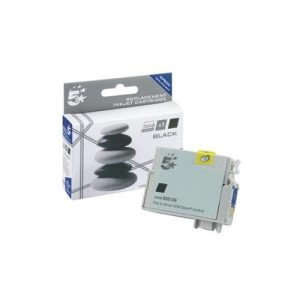 5 Star Office Remanufactured Inkjet Cartridge Capacity 7.4ml Black [Epson T0711 Alternative]   926139