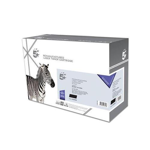 5 Star Office Remanufactured Laser Toner Cartridge Page Life 5000pp Black [Brother TN135BK Alternative]   929089