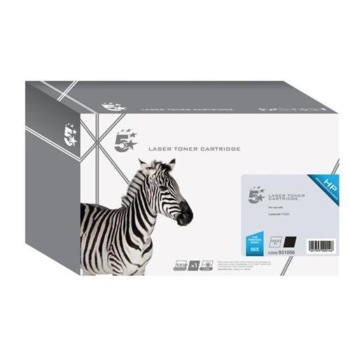 5 Star Office Remanufactured Laser Toner Cartridge 6500pp Black [HP No. 05X CE505X Alternative] | 931006