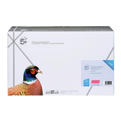 5 Star Office Remanufactured Laser Toner Cartridge 7500pp Magenta [HP No. 642A CB403A Alternative] | 931698