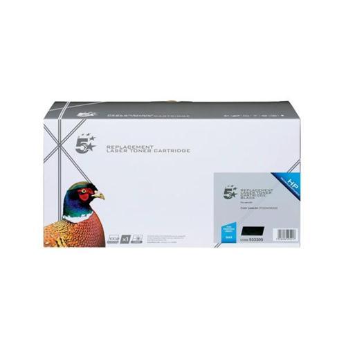 5 Star Office Remanufactured Laser Toner Cartridge 10500pp Black [HP No. 504X CE250X Alternative] | 933309