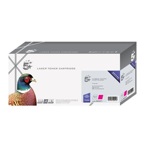 5 Star Office Remanufactured Laser Toner Cartridge Page Life 1400pp Magenta [Brother TN230M Alternative] | 933371