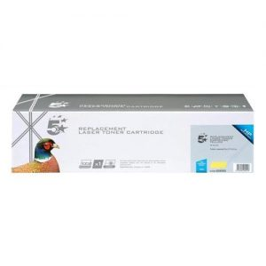 5 Star Office Remanufactured Laser Toner Cartridge 1000pp Yellow [HP No. 126A CE312A Alternative] | 934592