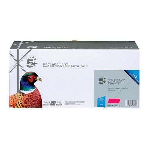 5 Star Office Remanufactured Laser Toner Cartridge 2600pp Magenta [HP No. 305A CE413A Alternative] | 934622