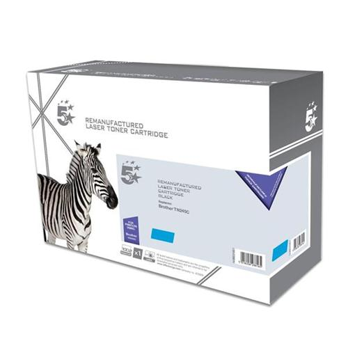 5 Star Office Remanufactured Laser Toner Cartridge Page Life 2200pp [Brother TN245C Alternative] Cyan | 938322