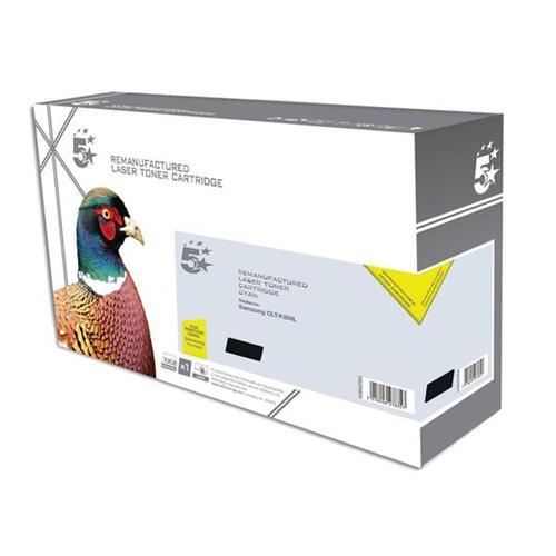 5 Star Office Remanufactured Laser Toner Cartridge Page Life 2000pp Black [Samsung CLT-K506 Alternative]   938357