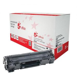 5 Star Office Remanufactured Laser Toner Cartridge Page Life 1500 Black [HP No. 83A CF283A Alternative] | 940511