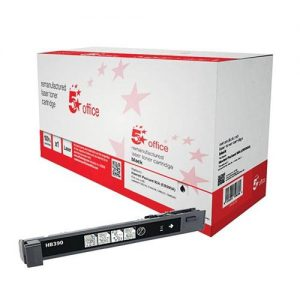 5 Star Office Remanufactured Laser Toner Cartridge Page Life 19500pp Black [HP 825A CB390A Alternative] | 940534