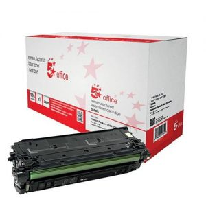 5 Star Office Remanufactured Laser Toner Cartridge 6000pp Black [HP No. 508A CF360A Alternative] | 940607