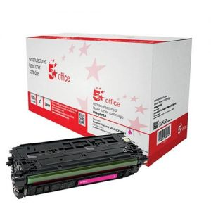5 Star Office Remanufactured Laser Toner Cartridge 5000pp Magenta [HP No. 508A CF363A Alternative] | 940623
