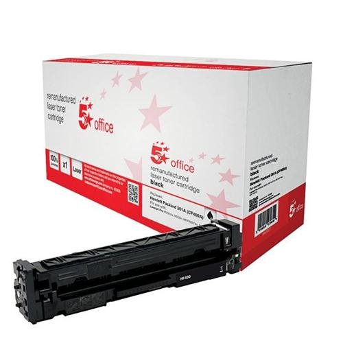 5 Star Office Remanufactured Laser Toner Cartridge 1500pp Black [HP No. 201A CF400A Alternative] | 940627