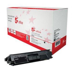 5 Star Office Remanufactured Laser Toner Cartridge Page Life 4000pp Black [Brother TN326BK Alternative] | 942261