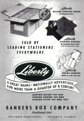 fellowes original storage box poster ad