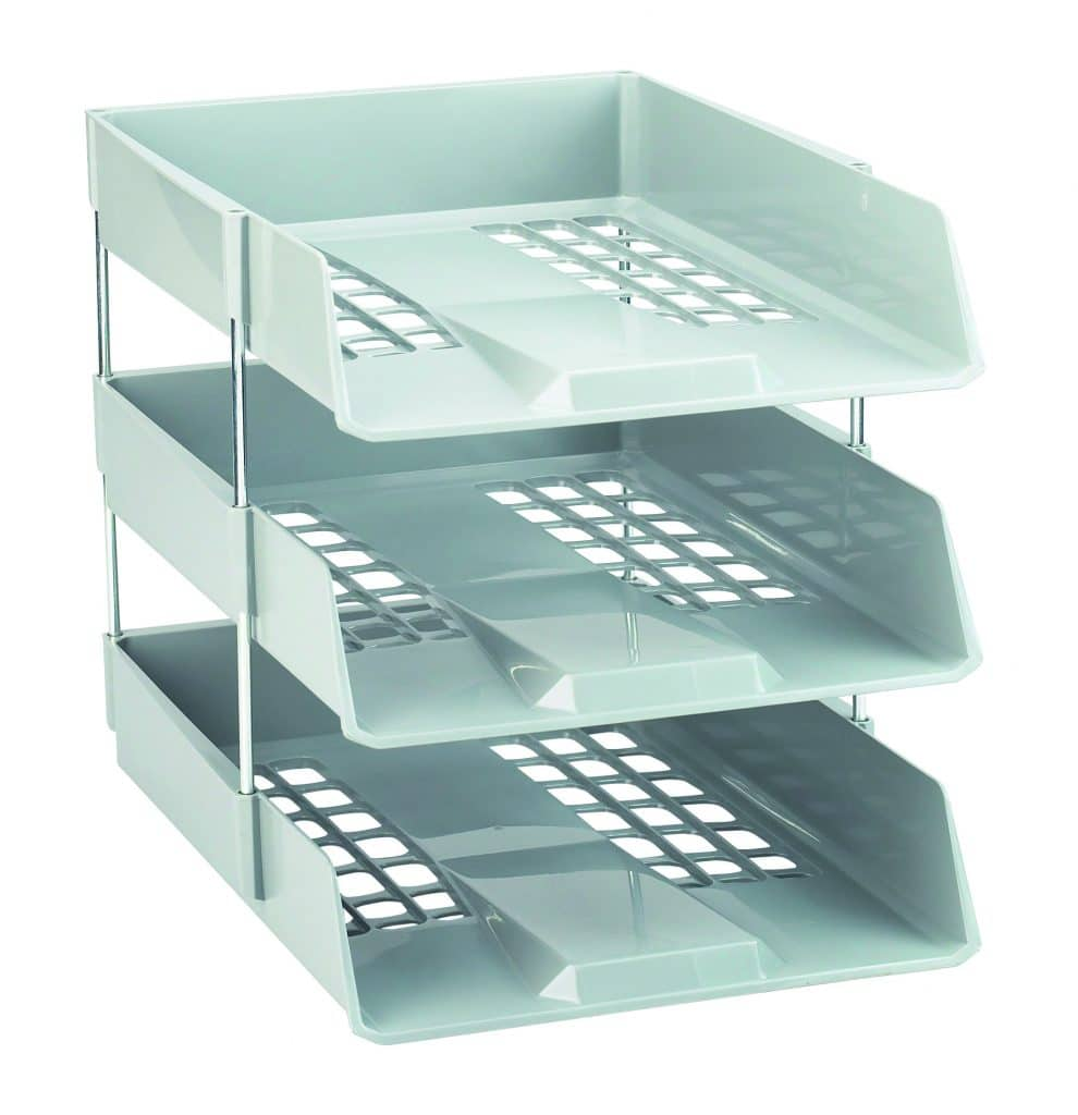 1132lgry_1 - Avery Letter Trays