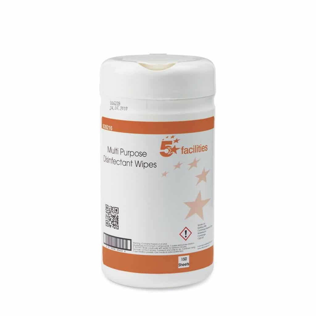 5 Star Antibacterial Multi-purpose Wipes