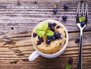 BLUEBERRY MUFFIN MUG CAKE 21