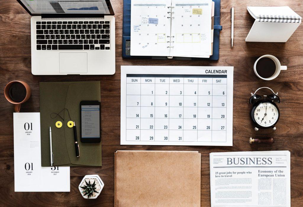 Organised Office Desk