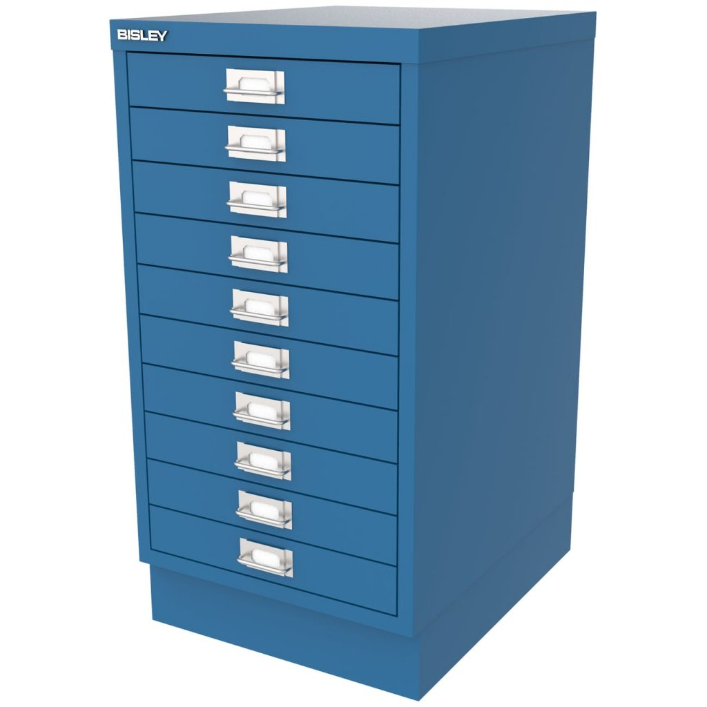 Bisley 10 Drawer Multidrawer Filing Cabinet