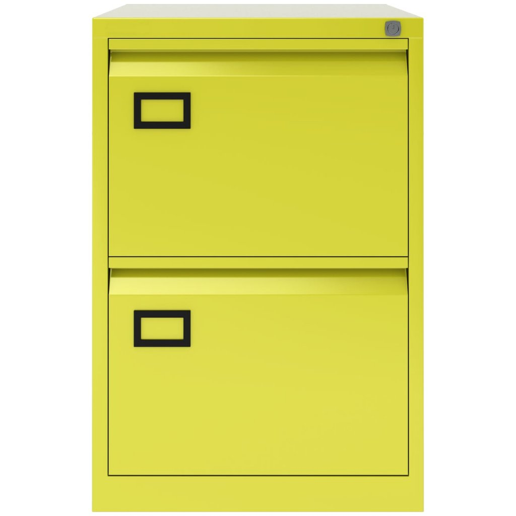 Bisley 2 Drawer Filing Cabinet - AOC2
