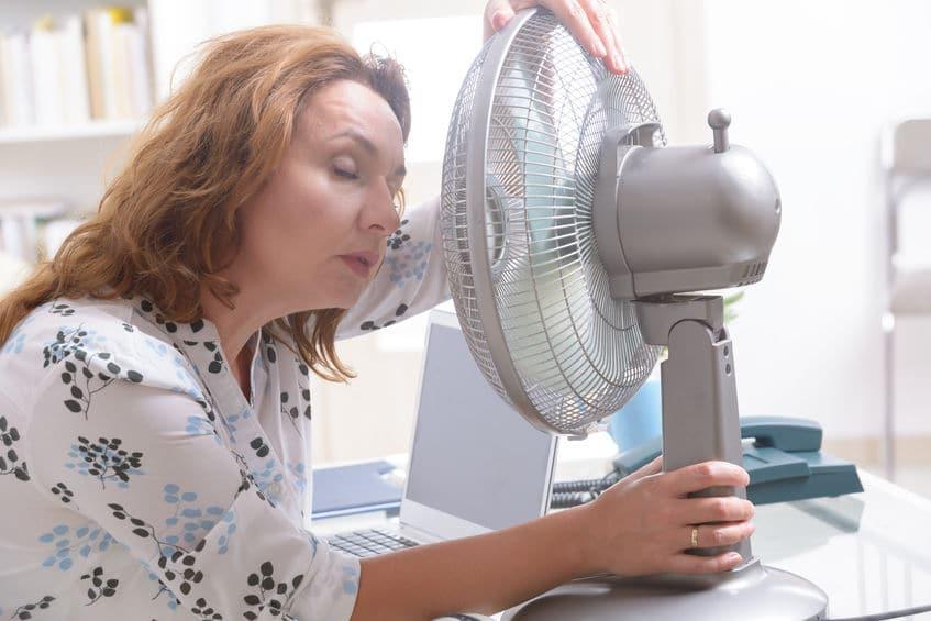 Office Fan Stay Cool