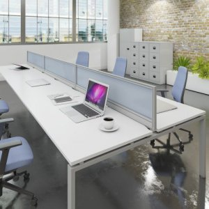 Acrylic Desk Screens To Increace Privacy And Reduce Contact 5