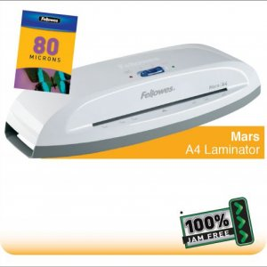 Fellowes Mars A4 Home and Personal Laminator with 100% Jam Free* Mechanism |