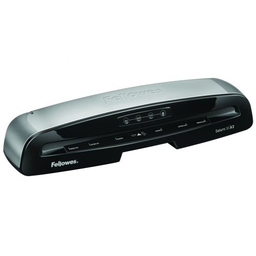 Fellowes Saturn 2 A3 Small Office Laminator with 100% Jam Free* Mechanism and HeatGuard |
