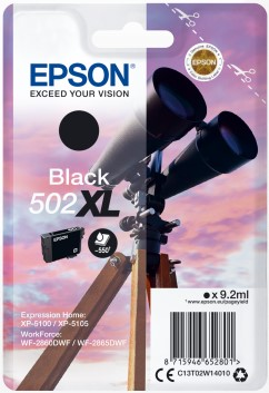 Epson 502XL Black Ink