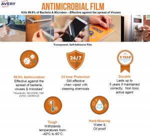 Introducing Avery Antimicrobial Film Labels & 5 Great Reasons You Should be Using Them 1