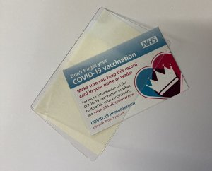 Protect Your Covid-19 Vaccination Card From Spills & Dirt 1